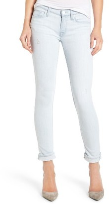 Women's Hudson Tally Crop Skinny Jeans $225 thestylecure.com