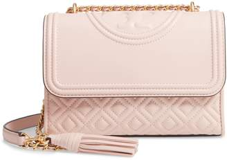 Tory Burch Small Fleming Leather Convertible Shoulder Bag