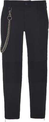 N°21 N 21 Brunilde Low-Rise Wool Skinny Pants
