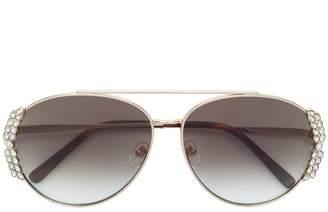 MCM crystal trim sunglasses