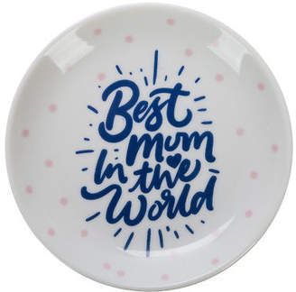 A. T NEW Best Mum In The World Dish