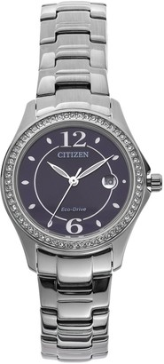 Citizen Eco-Drive Women's Silhouette Stainless Steel Watch