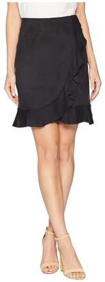 Kensie Stretch Suede Skirt KS8K6283 Women's Skirt