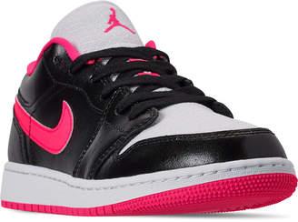 buy online db99b 113de Nike Girls' Big Kids' Air Jordan 1 Low (3.5y - 9.5y