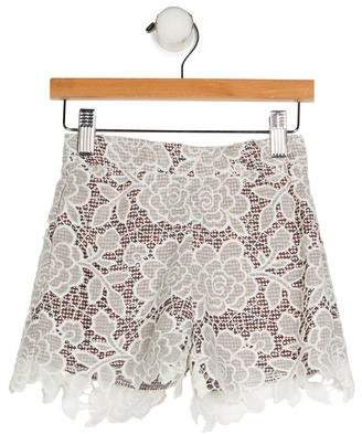 Paade Mode Girls' Lace Shorts w/ Tags