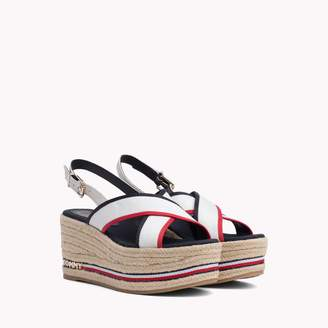 98917d7ddb6b Tommy Hilfiger Platform Wedge Women s Sandals - ShopStyle
