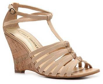 Audrey Brooke Amber Wedge Sandal
