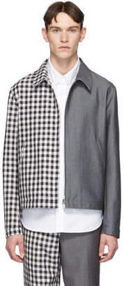 Thom Browne Navy Funmix Golf Jacket