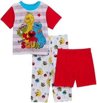 Sesame Street AME Squad 3-Piece PJ Set (Toddler Boys)