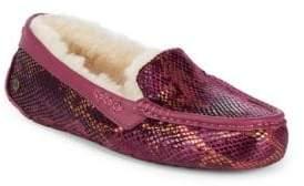 UGG Ansley Exotic Velvet Slippers