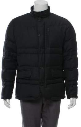 Tumi Quilted Down Coat wool Quilted Down Coat