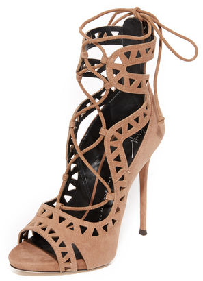 Giuseppe Zanotti Tie Up Sandals $1,295 thestylecure.com