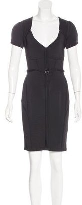 Karen Millen Bodycon Knee-Length Dress $95 thestylecure.com