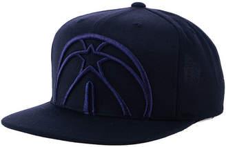 Mitchell & Ness Washington Wizards Metallic Cropped Snapback Cap