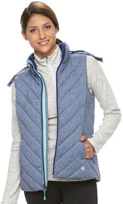 Women's Tek Gear® Hooded Puffer Vest $70 thestylecure.com