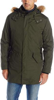 Cole Haan Men's 3-In-1 Anorak with Removeable Hood