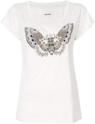 Zadig & Voltaire Zadig&Voltaire Butterfly print T-shirt