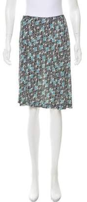 Diane von Furstenberg Silk Knee-Length Skirt