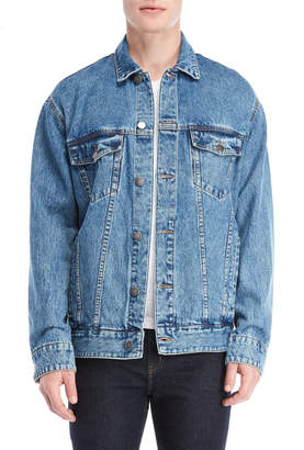 Cheap Monday O-Size Denim Shirt Jacket