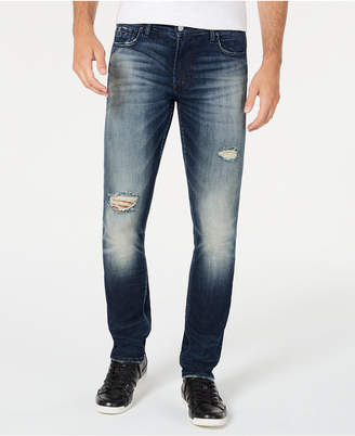 GUESS Men Skinny Ripped Jeans