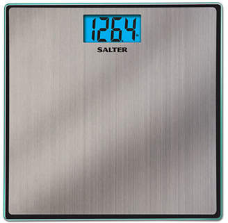 Salter SPRINGFIELD Glass and Steel Accuglo Bath Scale