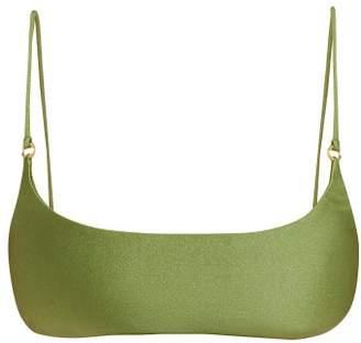 JADE SWIM Hinge Bikini Top - Womens - Green