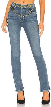 GRLFRND Blaine Mid-Rise Boot Cut Jean.