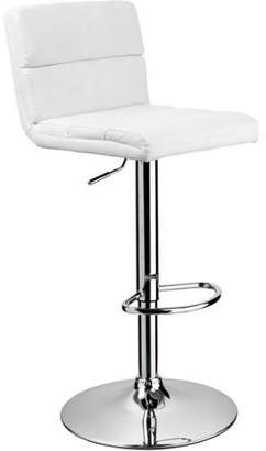 Best Master Furniture Tufted PU Leather Adjustable Height Bar Stool, Set of 2, Multiple Colors Available