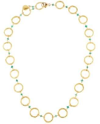 Dominique Cohen 18K Emerald Basic Chain Necklace