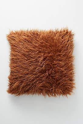 Anthropologie Makura Faux Fur Pillow