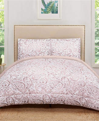 Pem America Truly Soft Watercolor Paisley Full/Queen Comforter Set Bedding