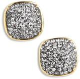 fc77db57818b16 Kate Spade Pave Small Square Stud Earrings