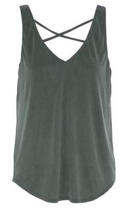 Tart Collections Celestia Cutout Brushed-Jersey Tank