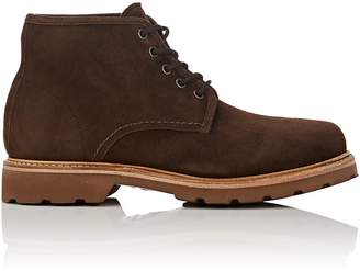 Cartujano Espana Men's Lug-Sole Suede Boots