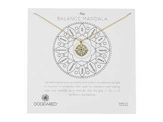 Dogeared The Balance Small Center Circle Mandala Necklace