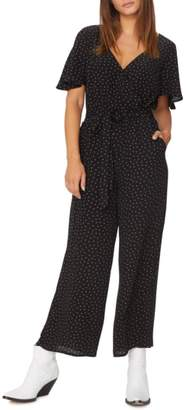Sanctuary Chasing Winds Polka Dot Jumpsuit