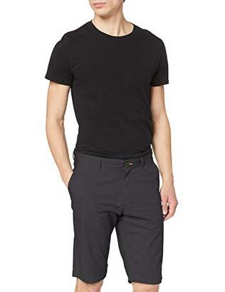 Tom Tailor NOS) Men's Chino Shorts/Kurze Hose Tarmac Grey 10899, (Size:):