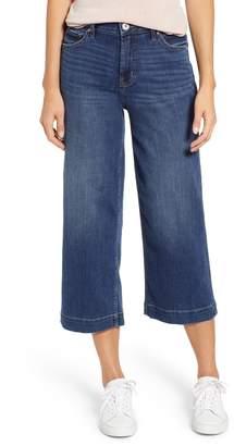 Jag Jeans Lydia High Waist Wide Leg Crop Jeans