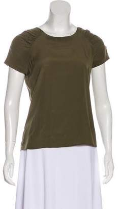 Etro Rushed Short Sleeve Top