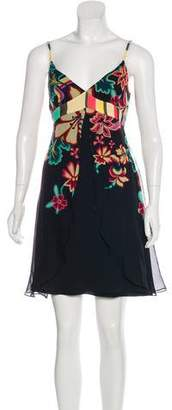 Temperley London Floral Silk Dress
