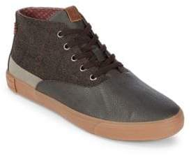 Ben Sherman Percy Mid-Top Lace-Up Sneakers