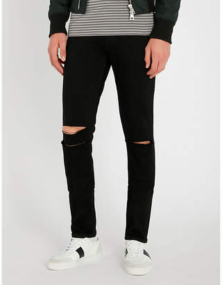 Paige Croft slim-fit distressed skinny jeans