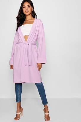 boohoo Oversized Belted Kimono