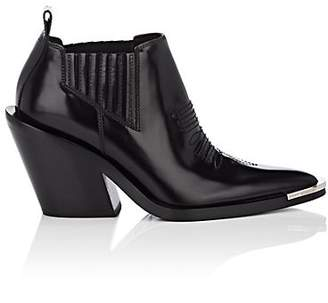 Paco Rabanne Women's Leather Ankle Boots - Black