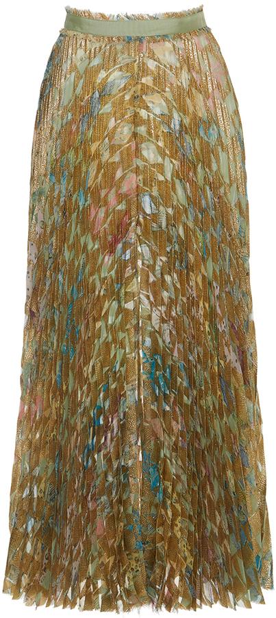 Roberto CavalliRoberto Cavalli Pleated Midi Skirt