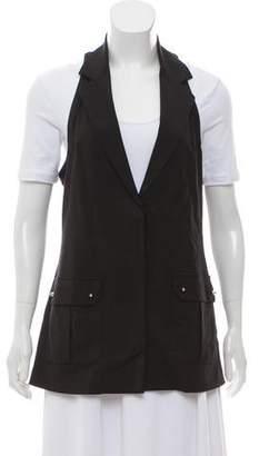 Vena Cava Wool Notch-Lapel Vest