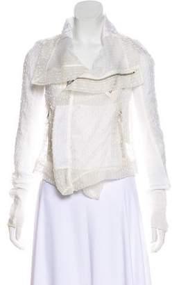 Rick Owens Textured Semi-Sheer Jacket