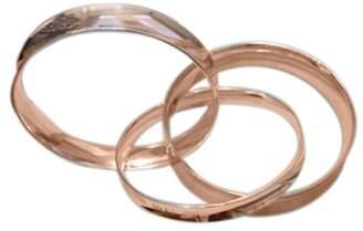 Tiffany & Co. 18K White Gold Interlocking Bangle Bracelet