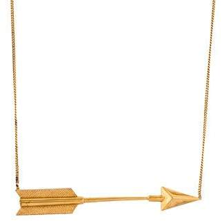 Stella McCartney Arrow Pendant Necklace