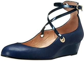 French Sole Women's Wheel Wedge Pump